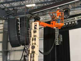 12 m elektrische masthoogwerker huren
