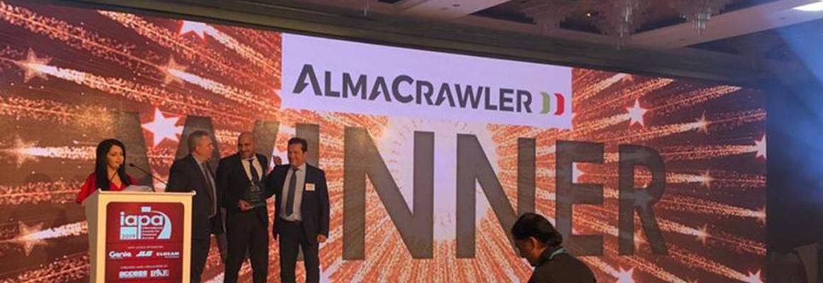 """Almacrawler Jibbi rupshoogwerker winnaar """"product of the year"""""""