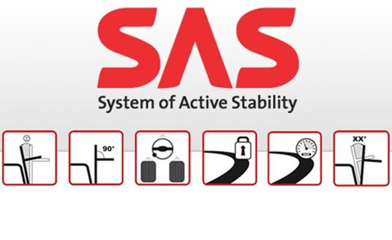 Toyota SAS systeem
