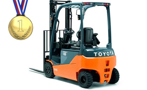 Toyota heftrucks nr. 1