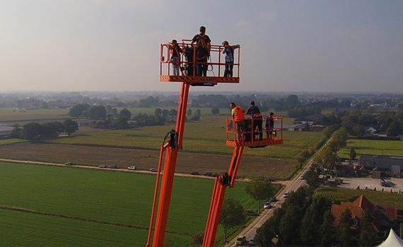 Ultra boom hoogwerker JLG 1250AJP