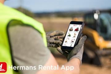 Ontdek de Hermans Rental app - Uw persoonlijke huur-assistent