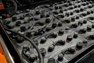 Onderhoudstips heftruckbatterij
